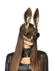 Steampunk kaninmask vuxen