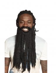 Rastafarimannen lösskägg