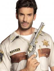 Silvrig Sheriffpistol