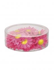 20 rosa fejkblommer