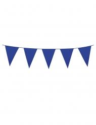 Girlang med blå vimplar 3 m