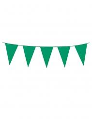Girlang med mörkgröna vimplar 3 meter