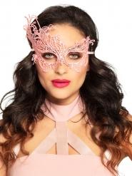 Sexig rosa spetsmask dam