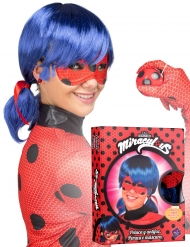 Ladybug™ - Set för vuxna med peruk och mask