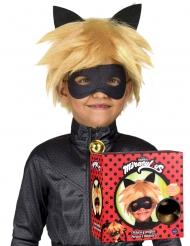 Miraculous™ Cat Noir peruk och mask barn