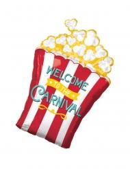 Aluminiumballong popcorn 50x73 cm