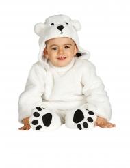 Isbjörn bebisdräkt