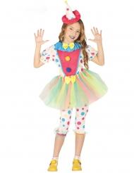 Clown Pastellis - Maskeradkläder för barn