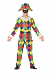 Clownen Dinky - Maskeradkläder för vuxna