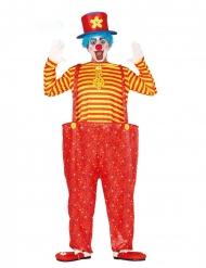 Clownen Humpty - Färgstarka maskeradkläder för vuxna