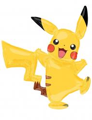 Pokémon Pikachu™ aluminiumballong 132x144 cm