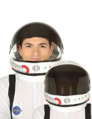 Astronauthjälm med avtagbart visir vuxen