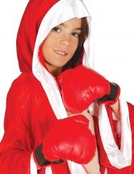 Röda boxningshandskar barn