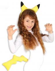 Tillbehör för gul elektrisk mus barn