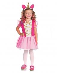 Magisk rosa enhörningsdräkt barn