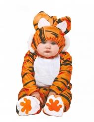 Orange tigerdräkt bebis
