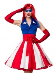 Sexig Miss America dräkt dam