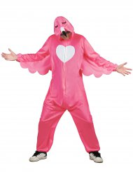 Rosa flamingodräkt herr