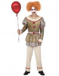 Läskig cirkusclown herr