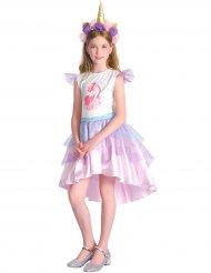 Enhörningsdräkt med klänning barn