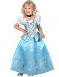 Blåvit Prinsessdräkt för barn