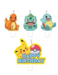 4 Pokémon™ födelsedagsljus