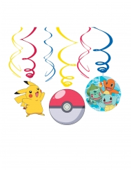 6 Pokémon™ spiralhängen