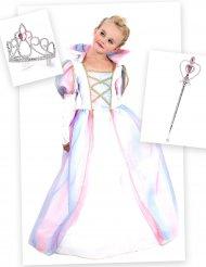 Dräktpaket för den magiska prinsessan barn