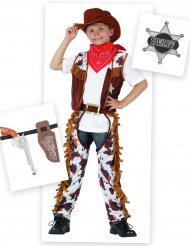 Cowboy dräktpaket barn