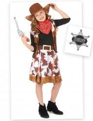 Cowgirl dräktpaket barn