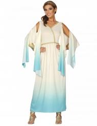 Grekisk gudinna vit & blå dam