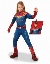 Lyxig Captain Marvel™ kostym barn