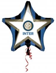 Inter™ stjärnformad aluminiumballong 48 cm
