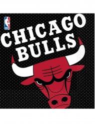 16 Chicago Bull™ pappersservetter 33x33 cm