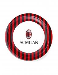 8 AC Milan™ tallrikar 23 cm