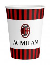 8 AC Milan™ pappmuggar 266 ml
