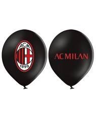 12 AC Milan™ latexballonger 30 cm
