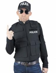 Polis skottsäker väst vuxen