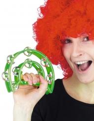 Grön tamburin 40 cm