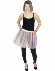 Färgglad ballerinakjol vuxen