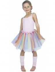 Flerfärgad ballerinakjol barn