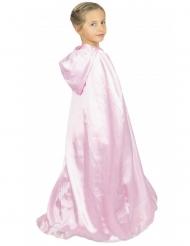 Prinsessmantel rosa barn