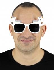 Glasögon med enhörningar vuxen