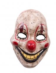 Skräckinjagande Clownmask med rörlig käke