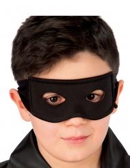 Svart banditmask barn