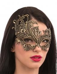 Elegant guldmask med makramé vuxen