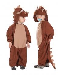 Triceratopsdräkt barn