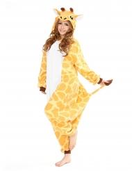 Kigurumi™ giraff vuxen