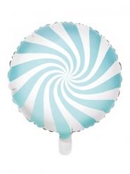 Aluminiumballong turkos godisklubba 45 cm