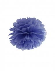 Lila dekorativ pappersboll 35 cm